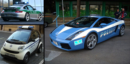 10 Cool and Unusual Police Cars