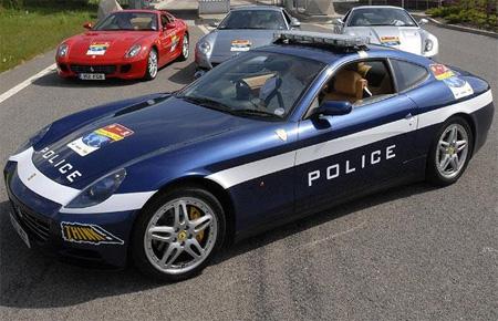 Ferrari Police Car