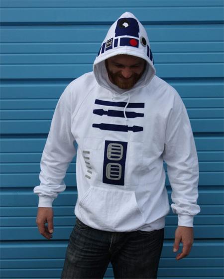 R2-D2 Inspired Hoodie