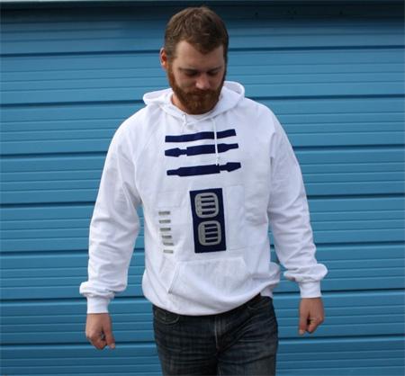 R2D2 Inspired Hoodie