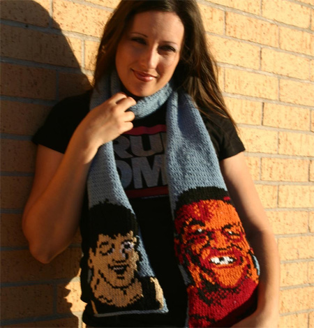 Mike Tysons Punch Out Scarf