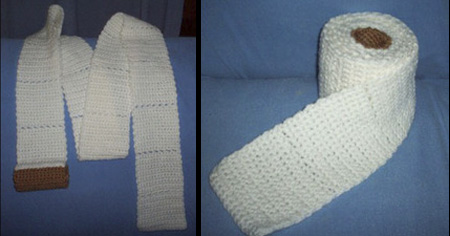 Toilet Paper Scarf