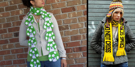 12 Unusual Scarf Designs
