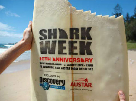 Discovery Channel Shark Week Ad