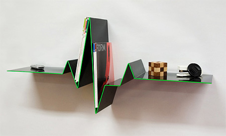 distorted bookshelf - Storyline Bookshelf