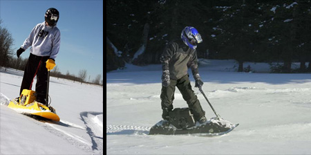 Gas Powered Motorized Snowboard