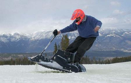 Motorized Snowboard