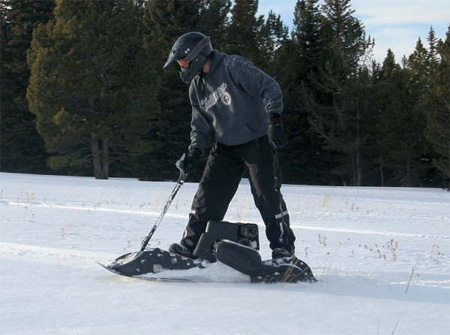 Mattracks Powerboard Motorized Snowboard