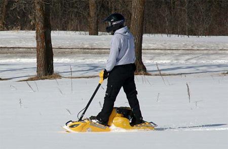 Mattracks Motorized Snowboard