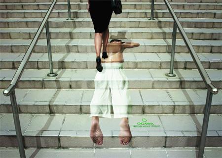 Massage Stairs Advertisement