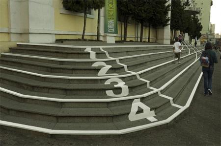 Shopping Curitiba Mall Stairs Advertisement