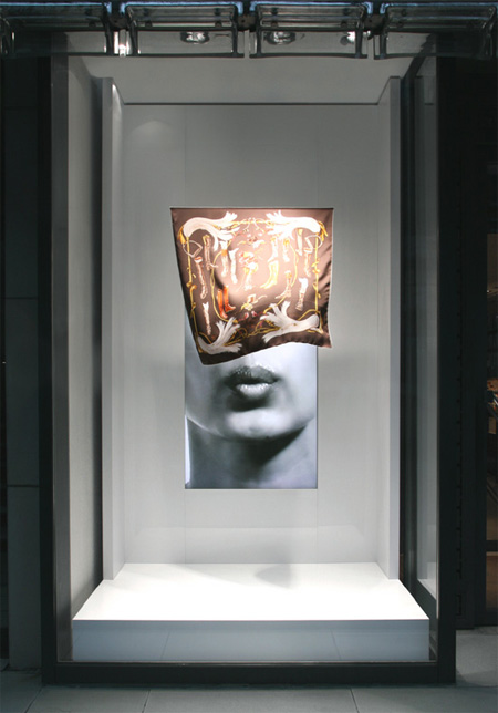 Maison Hermes Window Display