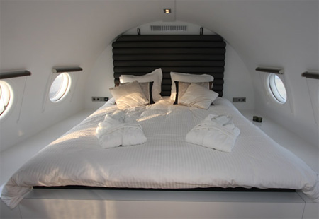 Recycled Airplane Hotel