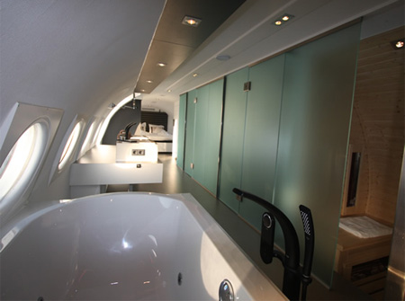 Airplane Hotel Netherlands
