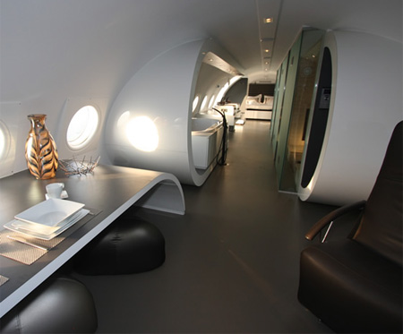 Airplane Hotel in Netherlands
