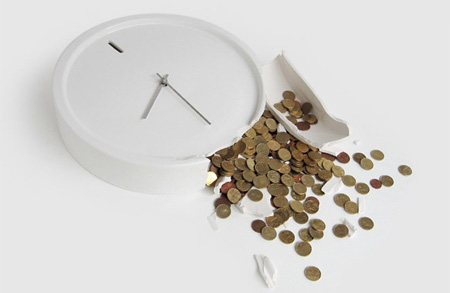 Clock Money Box