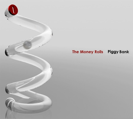 Money Rolls Piggy Bank