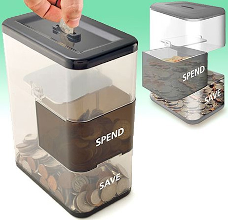 Spend Save Coin Bank