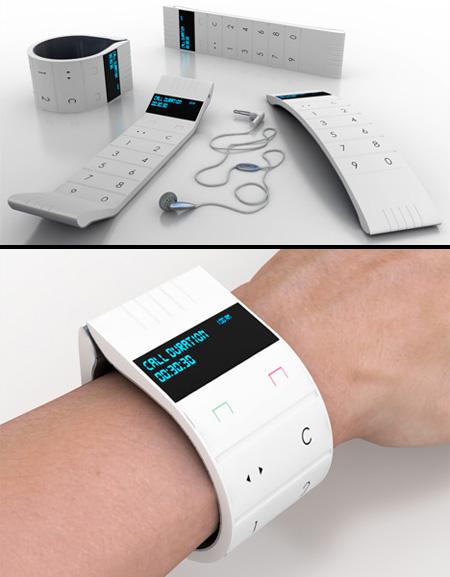 Flexible Cell Phone Concept