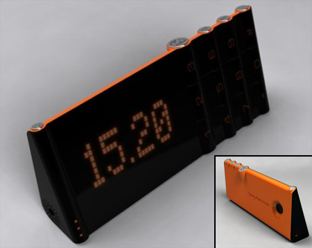 Alarm Clock Cell Phone Concept