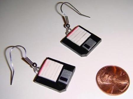 Floppy Disk Earrings