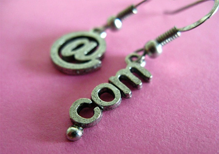 Internet Earrings
