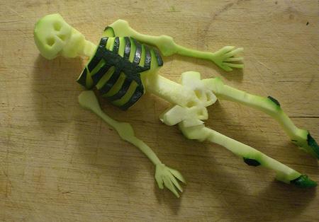 Zucchini Skeleton