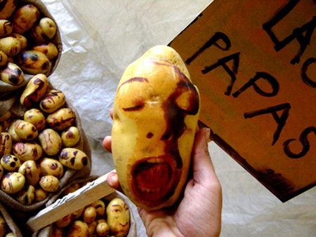 Potato Portraits