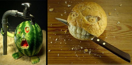 17 Amazing Food Carvings