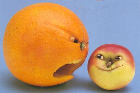 Fruit Art by Saxton Freymann