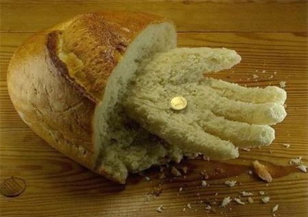 Bread Hand