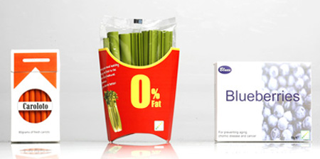 Clever Healthy Food Packaging