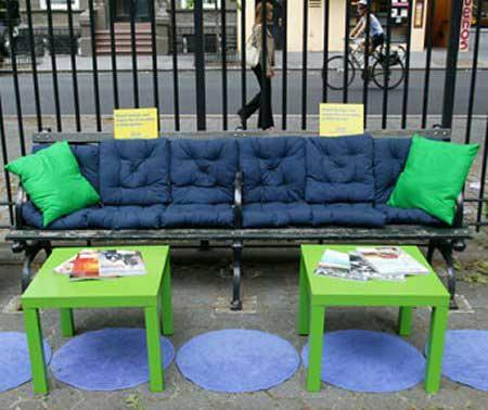 IKEA Park Bench