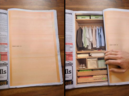 IKEA Newspaper Ad