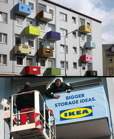 clever and creative ikea advertising. Black Bedroom Furniture Sets. Home Design Ideas