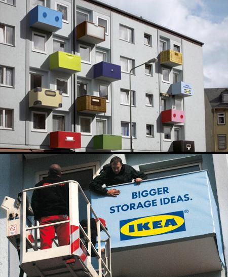IKEA Balcony