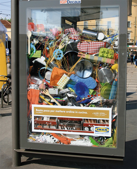 IKEA Messy Bus Shelters