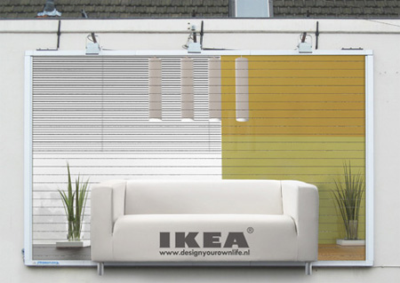 IKEA Sofa Billboard