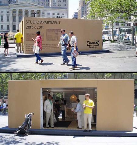 IKEA Apartment In a Box