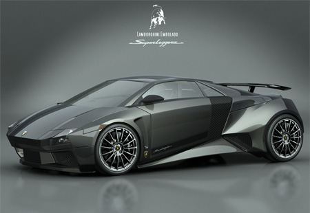 lamborghini concept car.