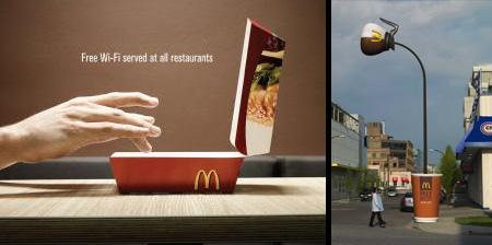 Creative McDonalds Advertising