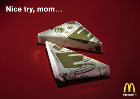 McDonalds Sandwich