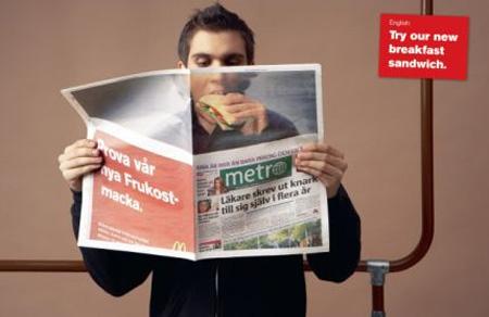 McDonald's Newspaper