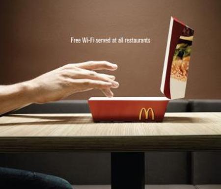 McDonalds Free Wi-Fi