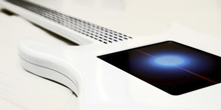 Touchscreen Guitar from Australia