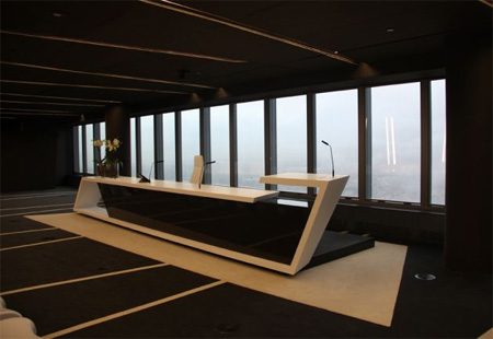 Futuristic Office Interior Design