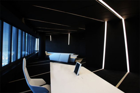 Crystal Tower Office Interior