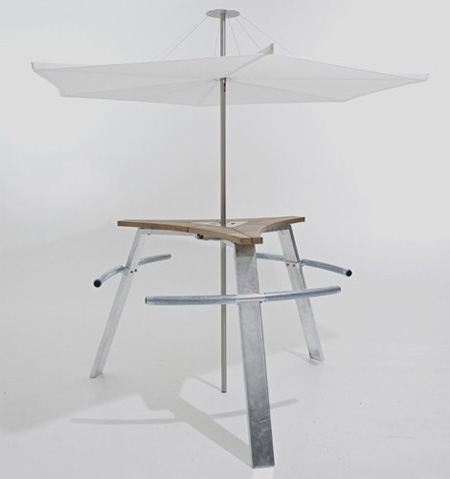 Abachus Modern Outdoor Table
