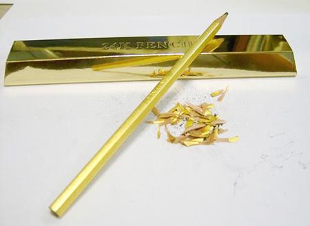 24K Gold Pencil