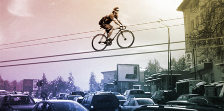 Bike Lanes in the Sky Concept